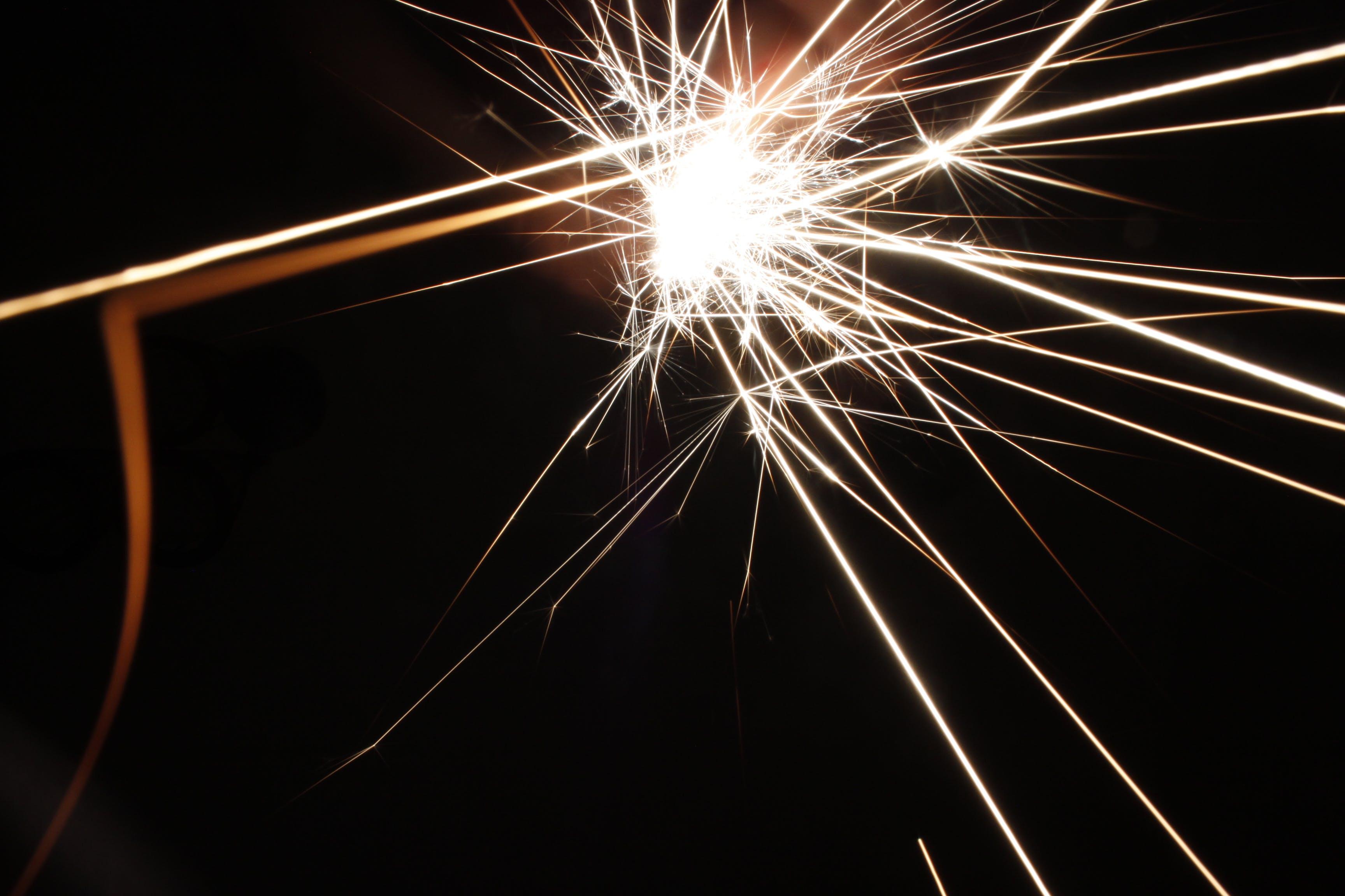 Free stock photo of burn, dark, fire, light