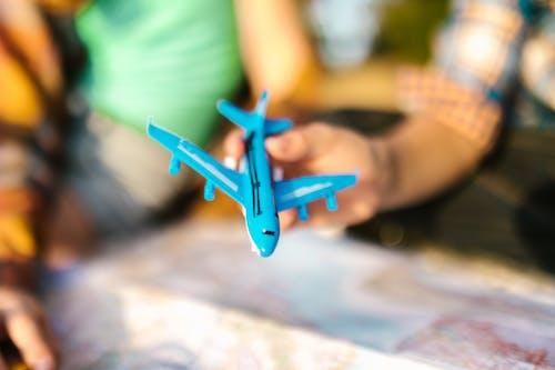 Δωρεάν στοκ φωτογραφιών με αεροπλάνο, αεροπλάνο γραμμής, θολή φόντο