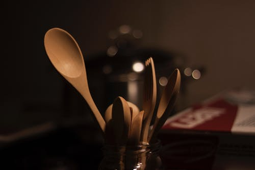 原本, 廚房, 抹刀, 湯匙 的 免費圖庫相片
