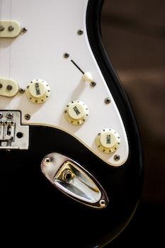 Electric Guitar Amplifier Cord Port