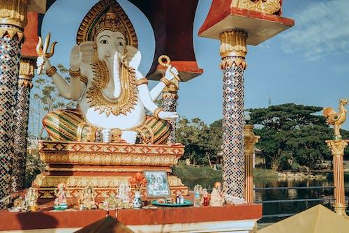 ganesh神, 上帝, 亞洲, 亞洲建築 的 免费素材图片