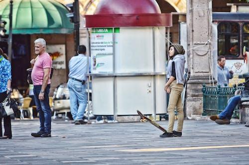 Foto d'estoc gratuïta de centre de la ciutat, gent, hdr, moment