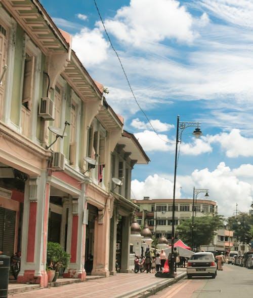 คลังภาพถ่ายฟรี ของ ท้องฟ้าสีคราม, ประเทศมาเลเซีย, ปีนัง, ผู้คน