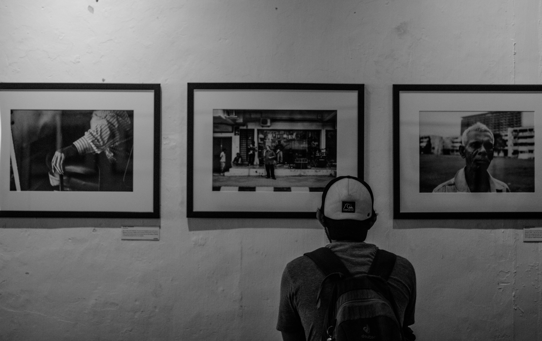 그림, 남자, 박물관, 방의 무료 스톡 사진