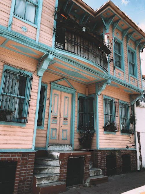 External Shot of a Wooden House