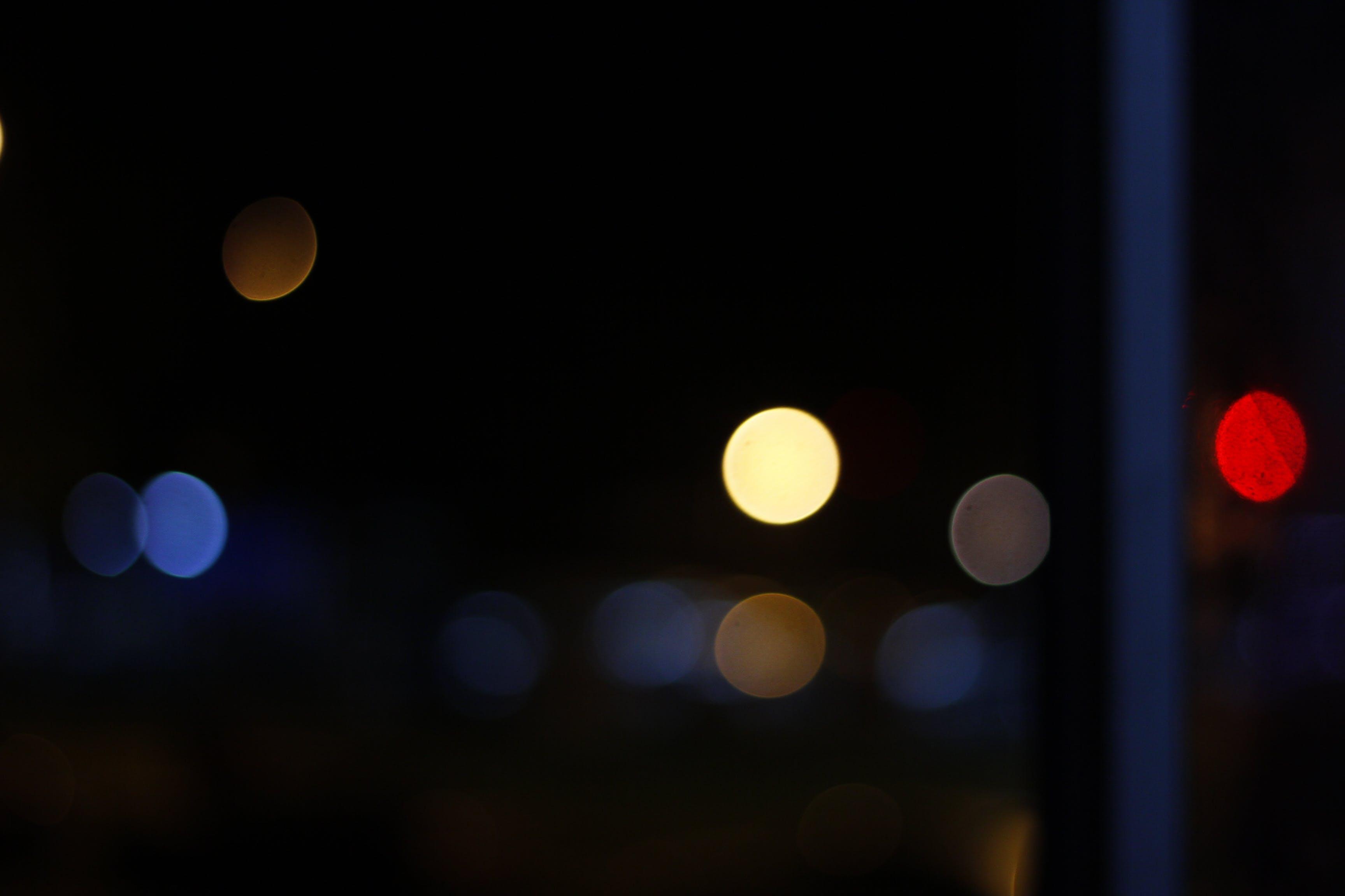 Free stock photo of bokeh, night, night lights