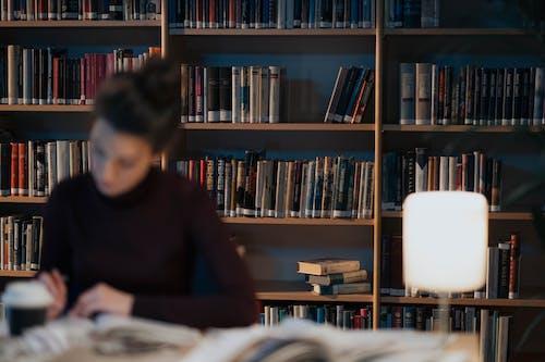 Fotos de stock gratuitas de adentro, biblioteca, de madera