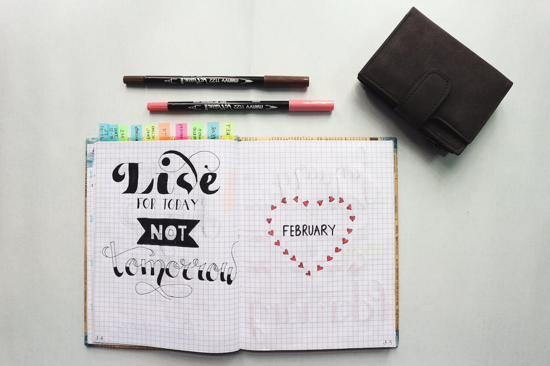 Free stock photo of bich tran, bullet journal, draw quotes