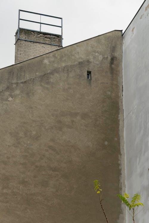 Darmowe zdjęcie z galerii z architektura, brandmauer, budynek, czarno-biały