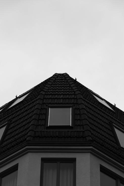 Ingyenes stockfotó berlin, építészet, fekete-fehér, tető témában