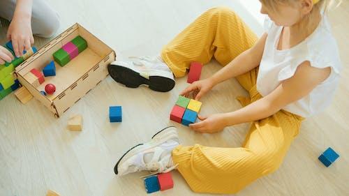 Fotos de stock gratuitas de aprendiendo, aprendizaje, bloques de madera