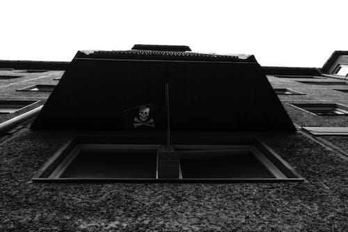 Darmowe zdjęcie z galerii z architektura, czarno-biały