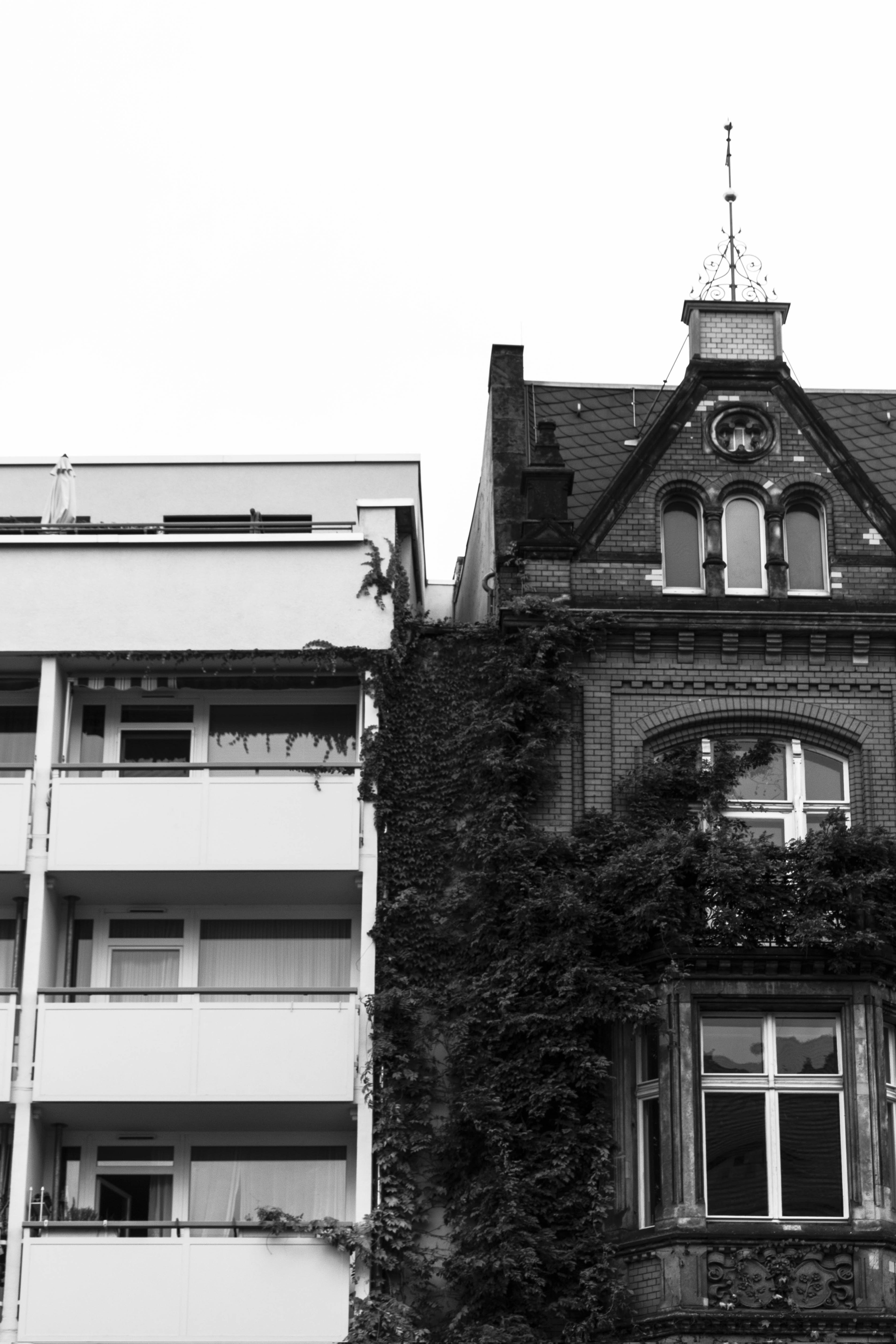 Free stock photo of architecture, berlin, black and white, buildings