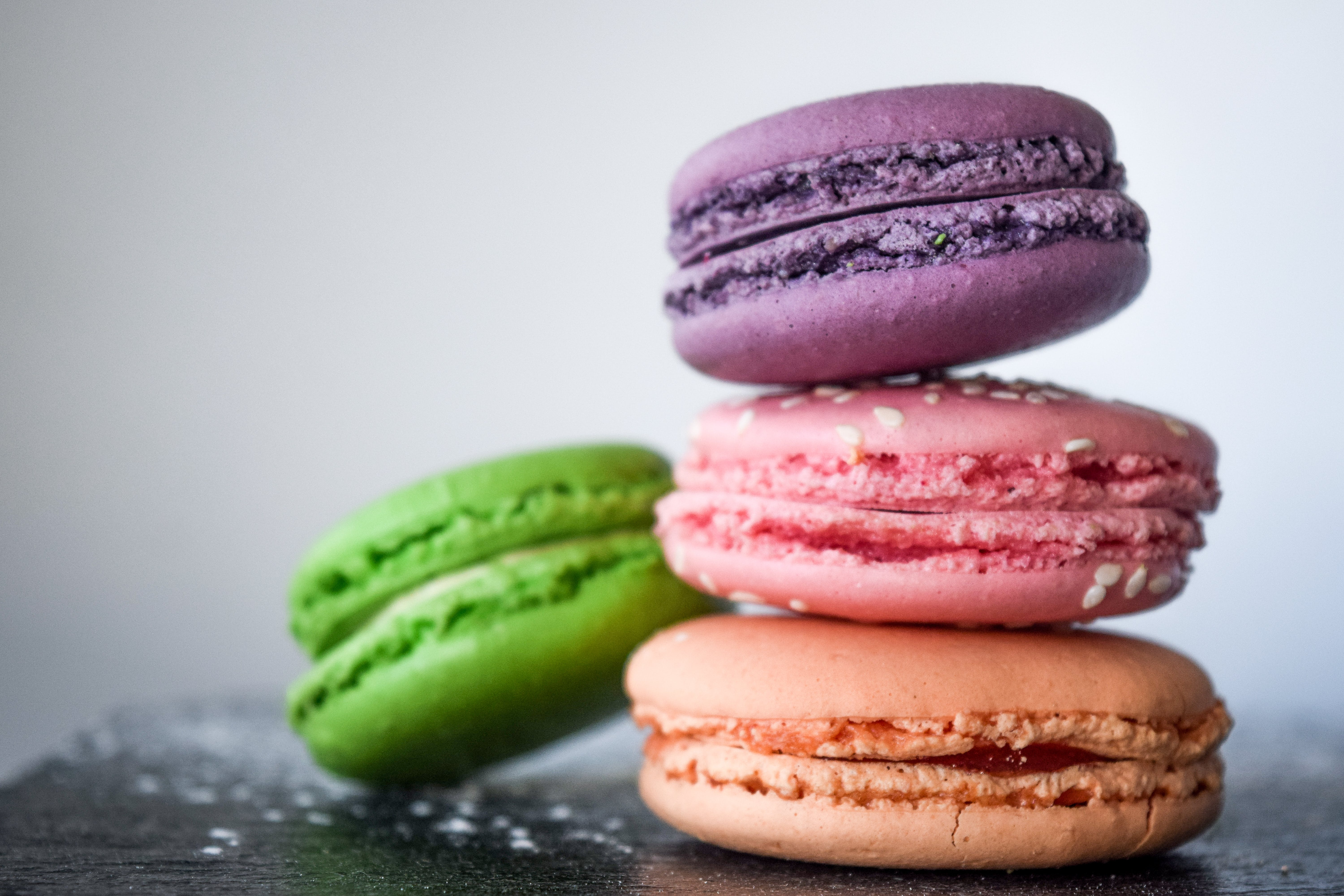 Four Assorted-color of Macaroons