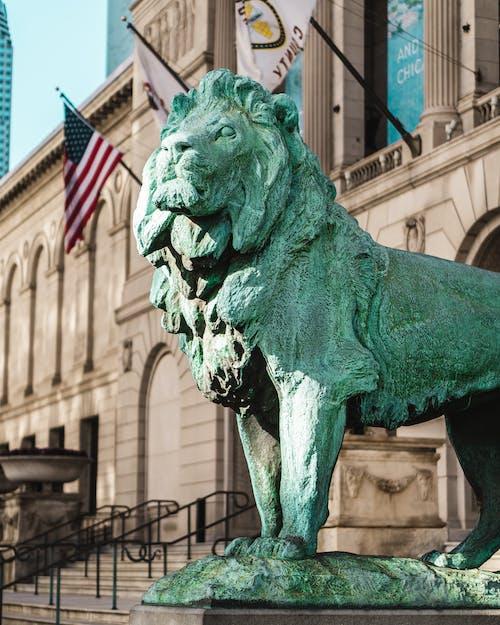 Foto profissional grátis de arquitetura, arte, bronze