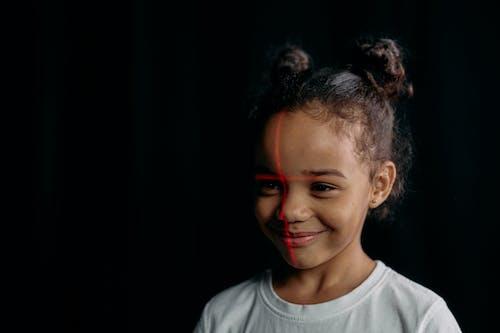 Close-Up Photo of Cute Child
