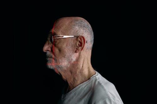 Free stock photo of 3d scanning, bald, beard