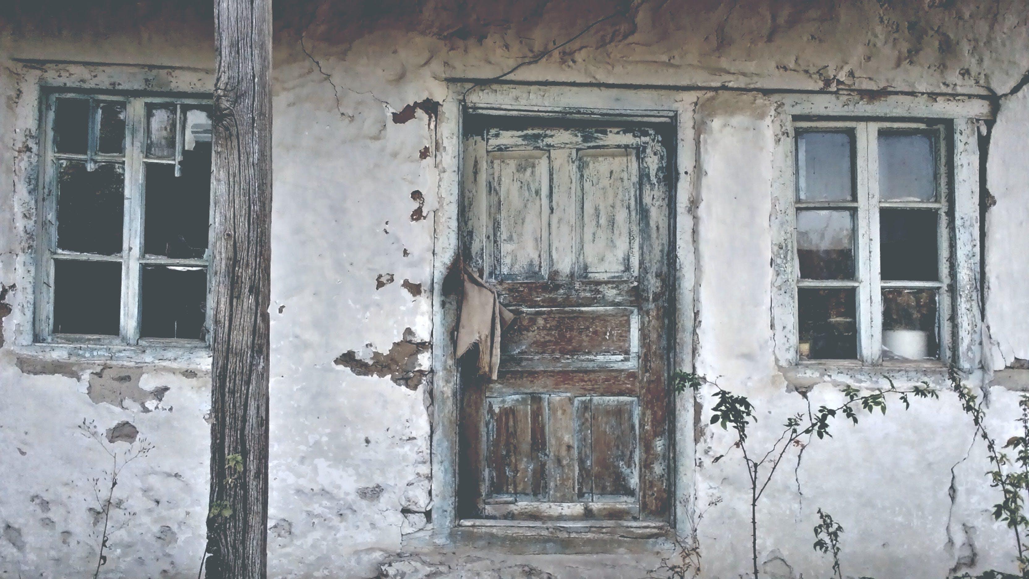 คลังภาพถ่ายฟรี ของ ตึกร้าง, ถูกทอดทิ้ง, บ้านโบราณ, วินเทจ