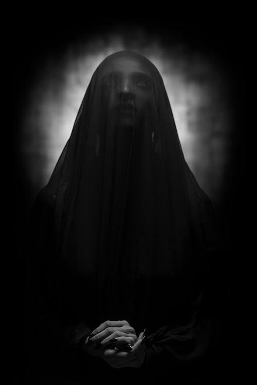 Foto profissional grátis de alma penada, arrepiante, assombração