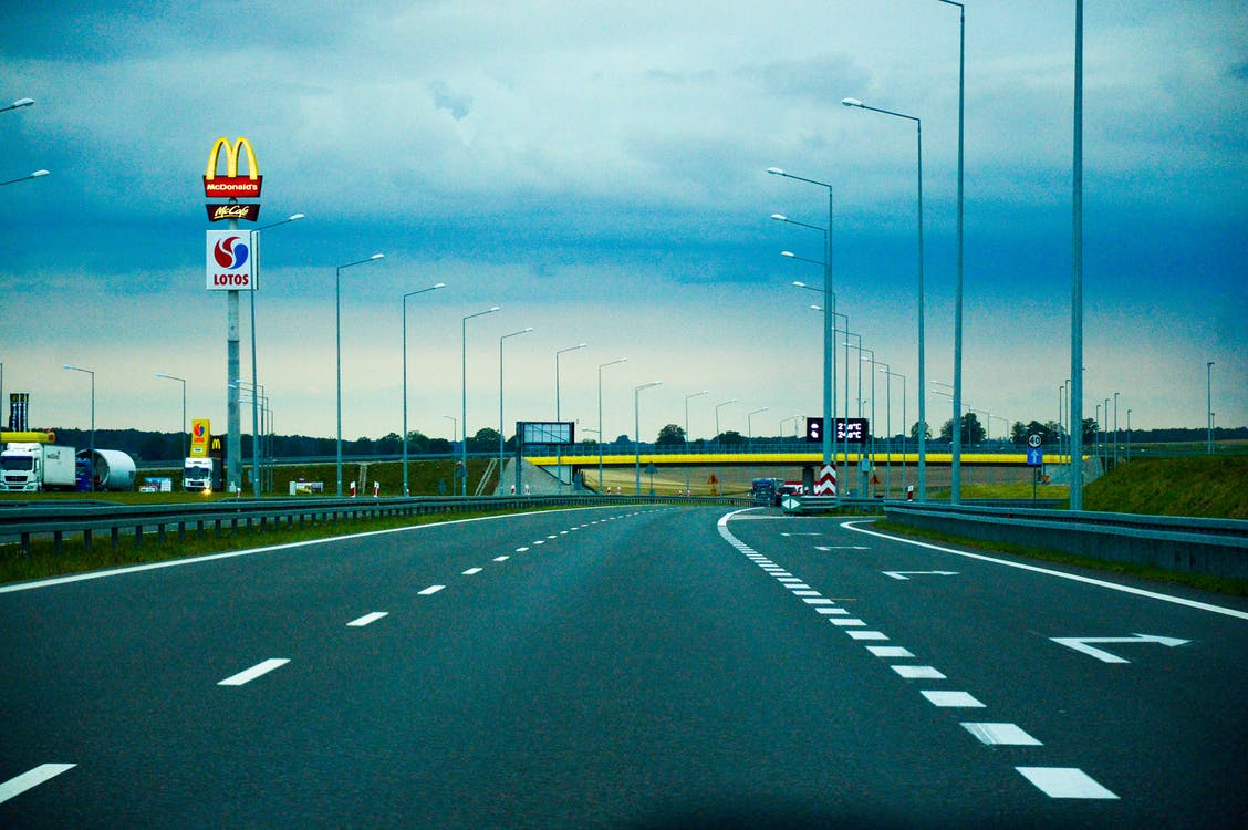 asphalt, drive, expressway