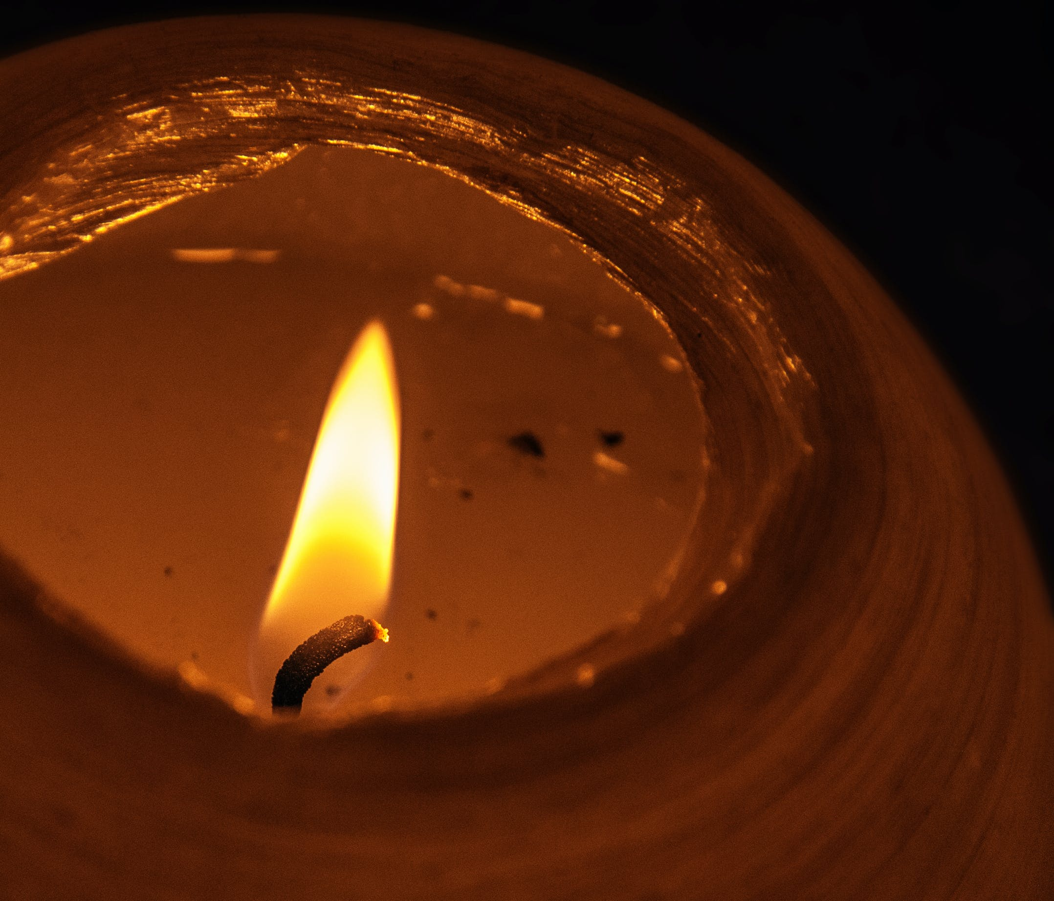 Free stock photo of night, candle, flame