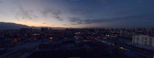 Fotobanka sbezplatnými fotkami na tému Čile, mesto, modrá obloha, mrak