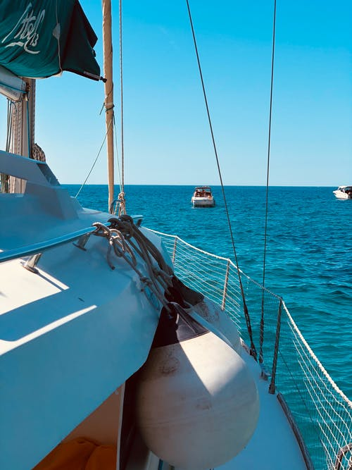 Free stock photo of blue, boat, france