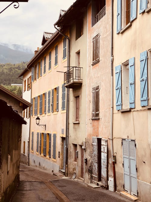 Free stock photo of france, mountains, oldschool
