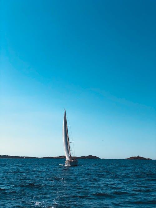 Free stock photo of blue, boat, ocean