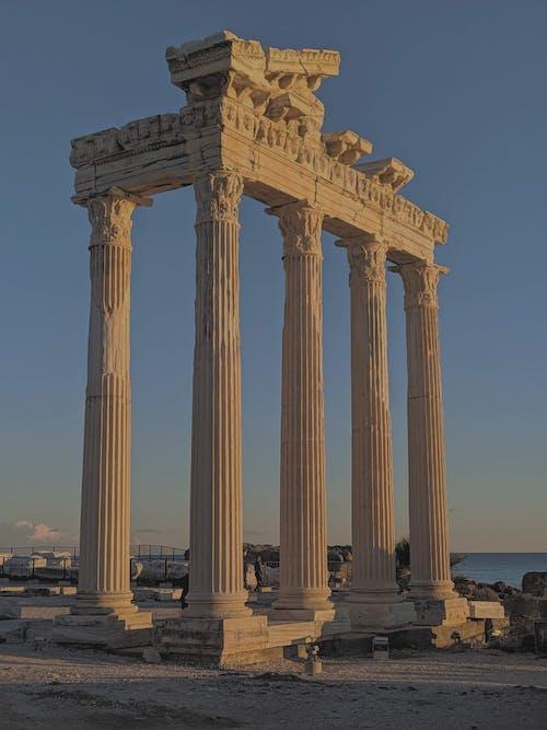 Free stock photo of acropolis, aegean sea, ancient