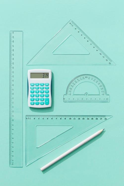 Flatlay, 垂直拍攝, 數學壁紙 的 免費圖庫相片