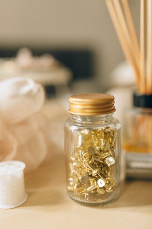 Ingyenes stockfotó aromaterápiás, befőttes üveg, beltéri témában