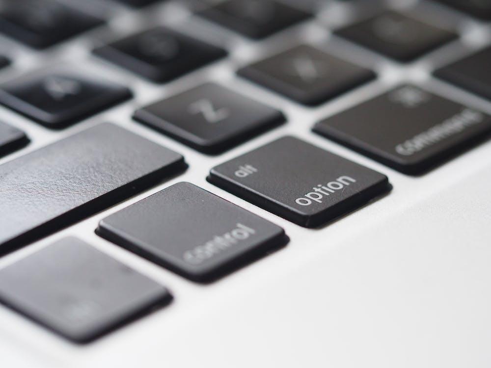 Close-Up Photography of Macbook Keyboard
