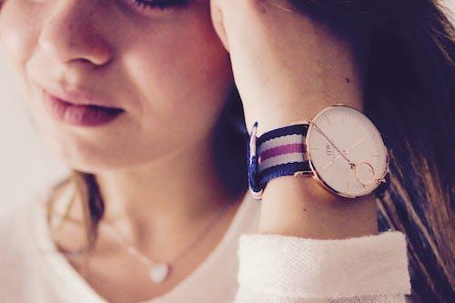 女人, 女孩, 手錶, 時尚 的 免費圖庫相片