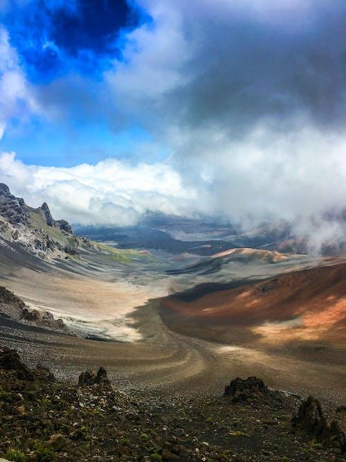 Free stock photo of clouds, haleakala, hawaii