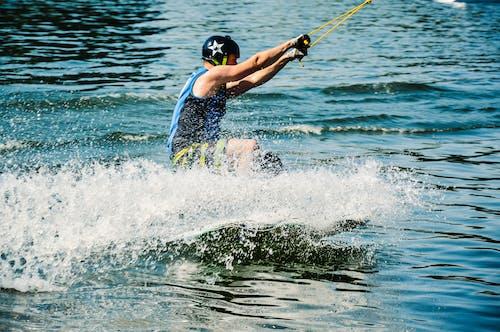 極端, 水, 滑水板, 濕 的 免費圖庫相片