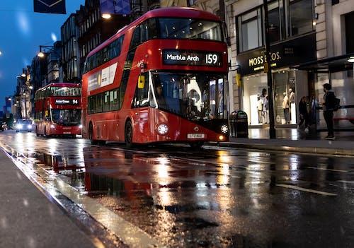 Free stock photo of london, london bus, oxford street