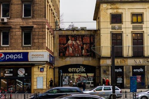 Photos gratuites de aleje jerozolimskie, art, art mural, bâtiments