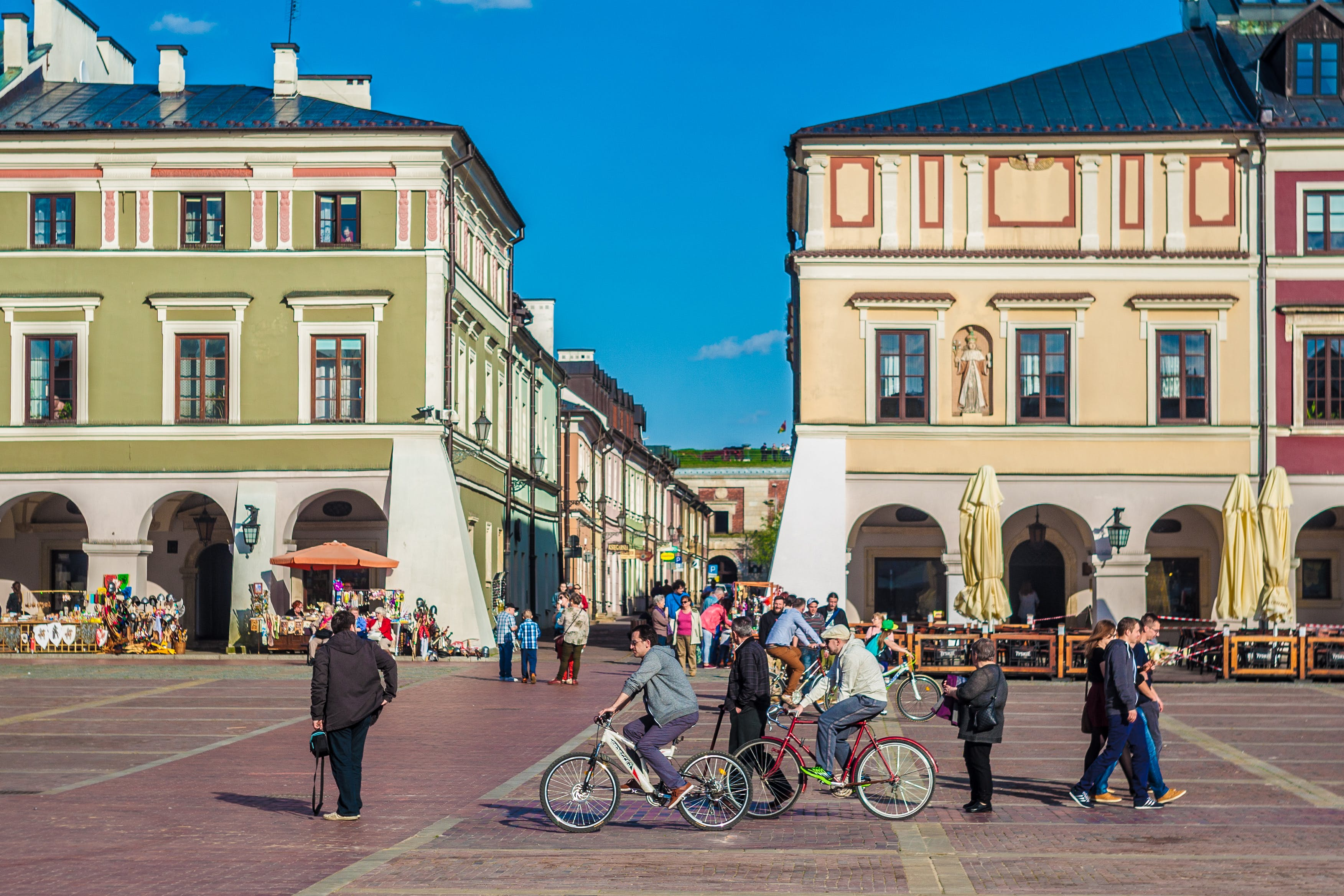 Free stock photo of lubelskie, market square, old town, poland