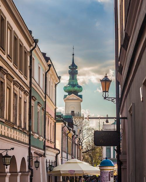 Fotobanka sbezplatnými fotkami na tému architektúra, lubelskie, Poľsko, ratusz