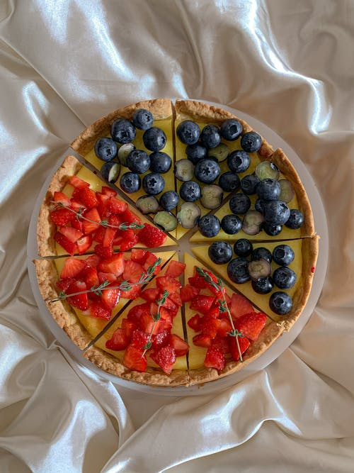 A Delicious Sliced Fruit Pie
