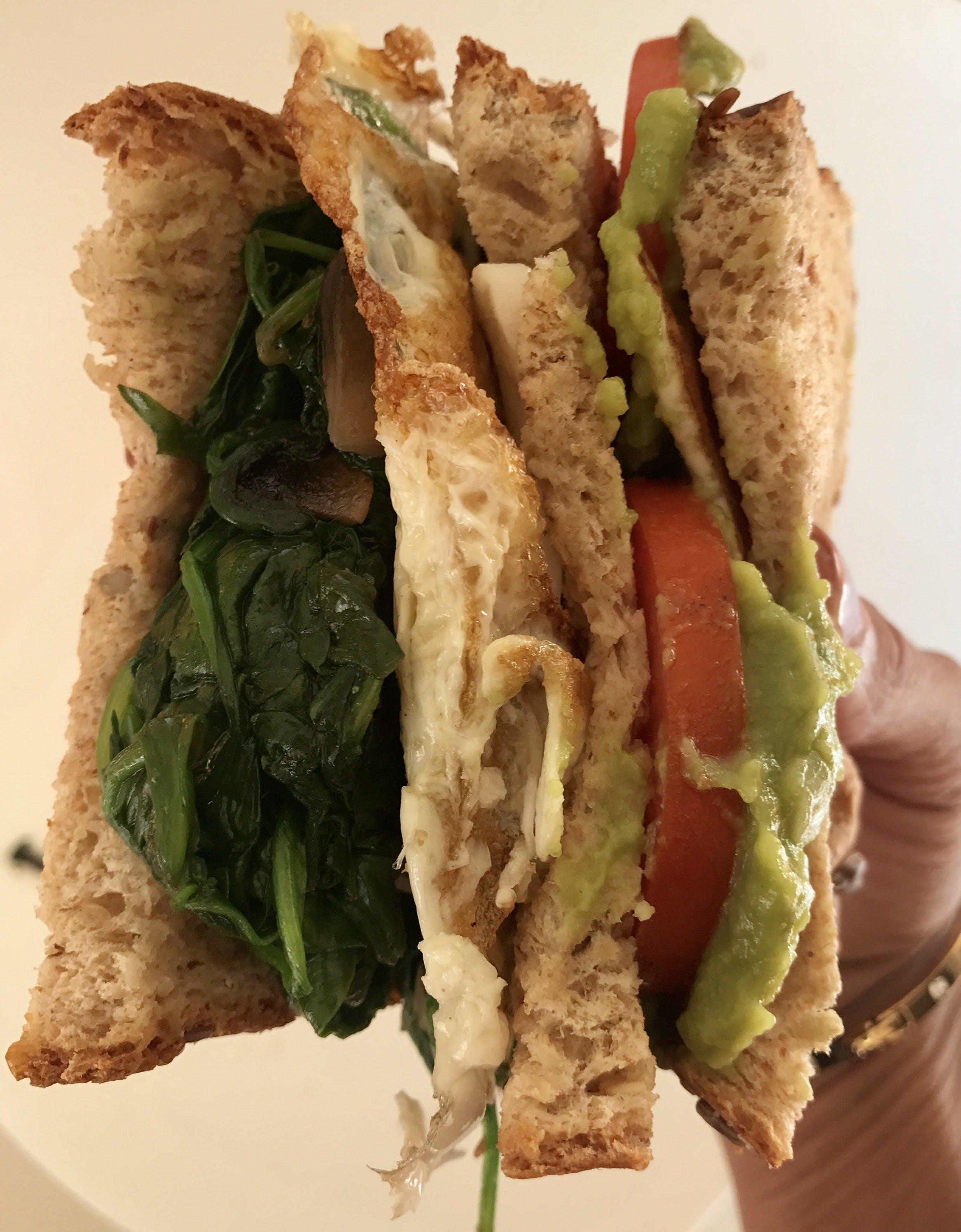 Free stock photo of sandwich
