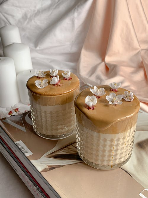 Brown Cupcake on White Table Cloth