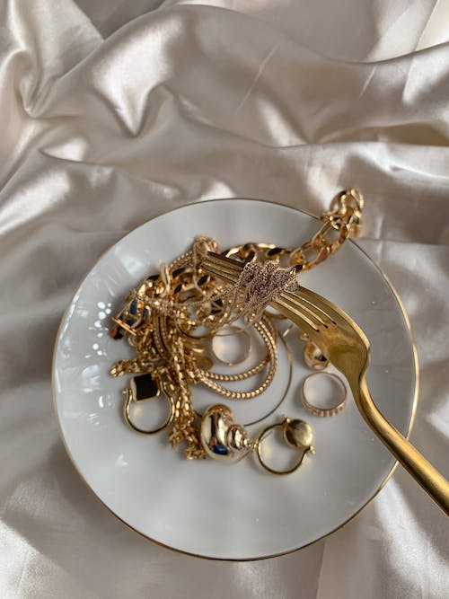 Jewelry on a Plate
