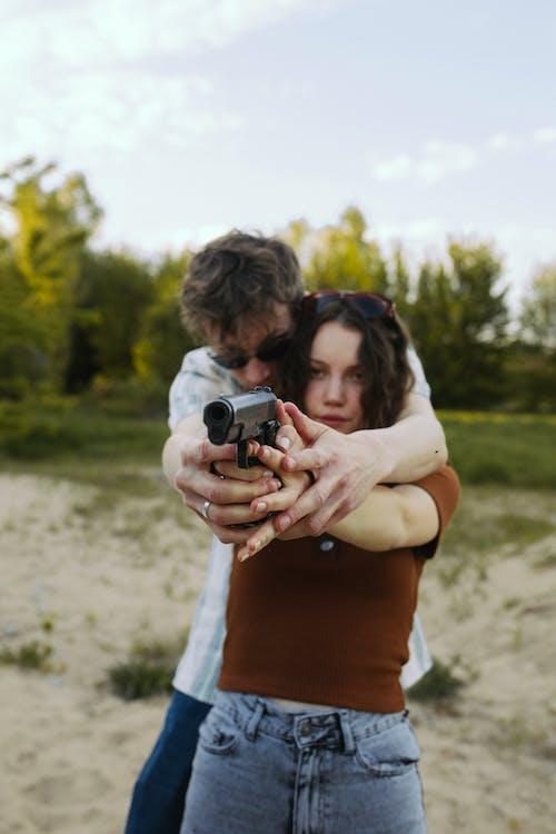 Darmowe zdjęcie z galerii z broń, broń palna, karabin
