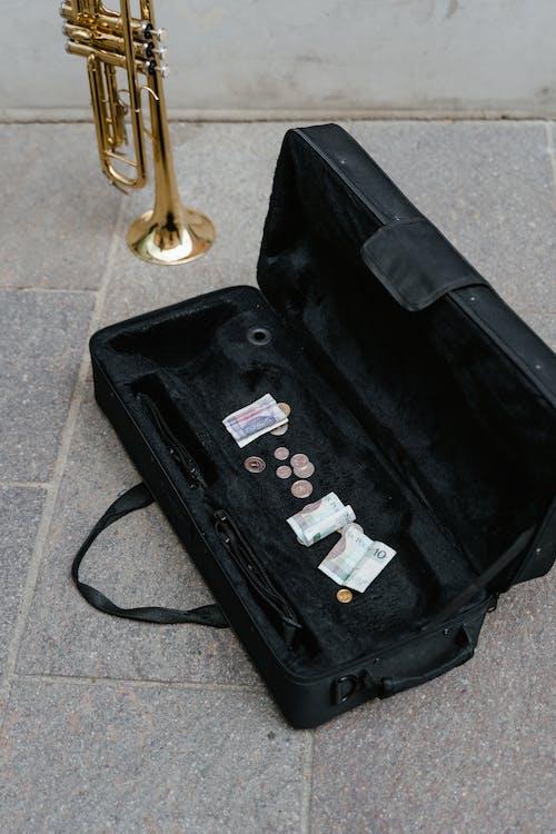 Безкоштовне стокове фото на тему «Вулиця, вуличний музикант, гроші»