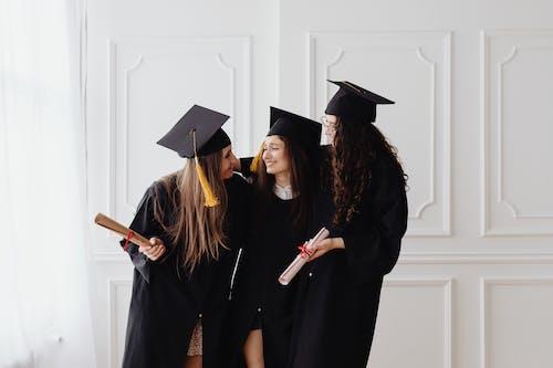 3 Women Wearing Academic Dress