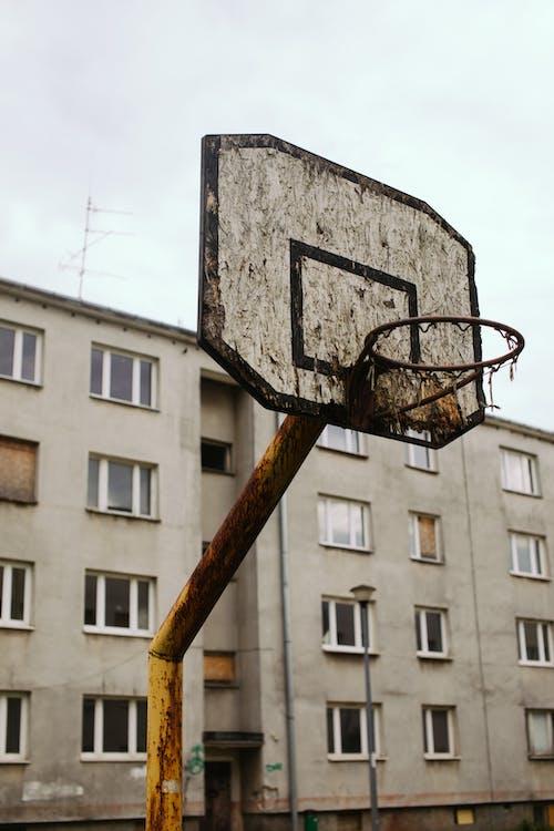 Безкоштовне стокове фото на тему «архітектура, баскетбол, Баскетбольне кільце»