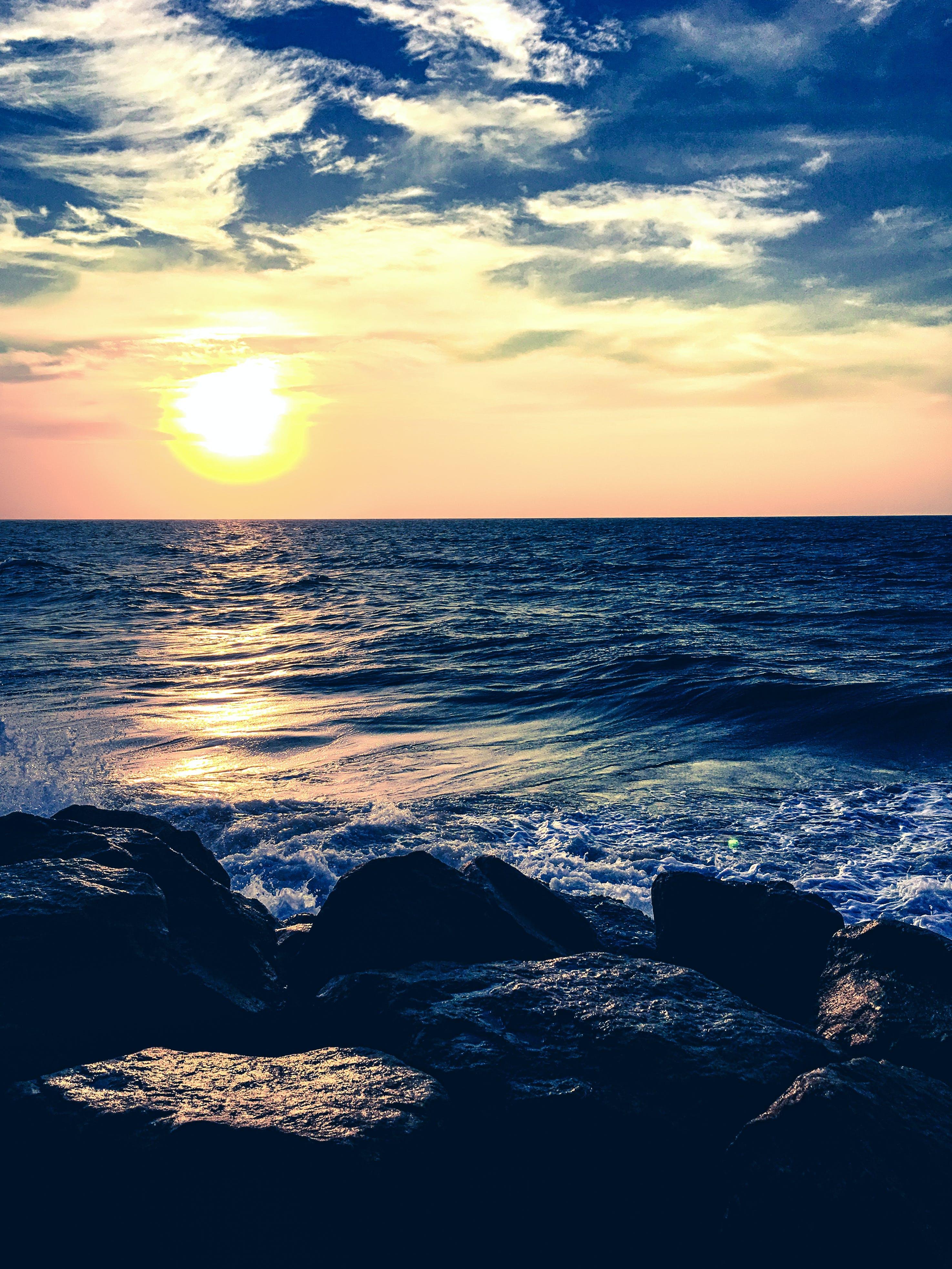 hav, havudsigt, himmel