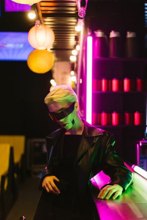 Základová fotografie zdarma na téma brýle, cyber, cyberpunk